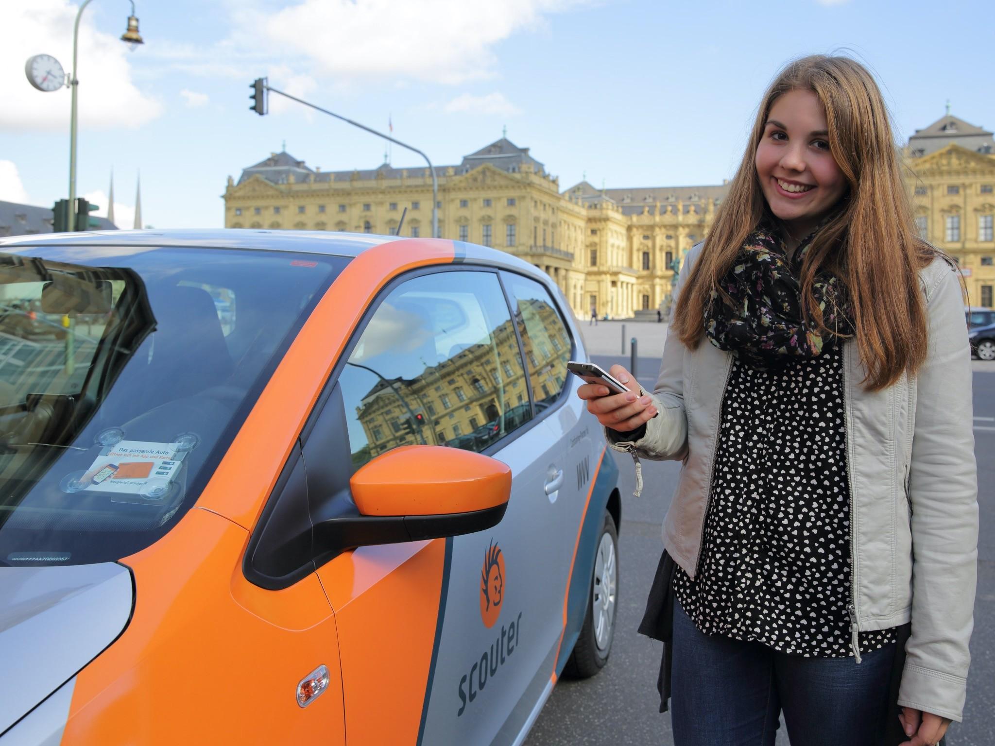 Carsharing funktioniert in Würzburg ganz einfach! Foto: Stadt Würzburg