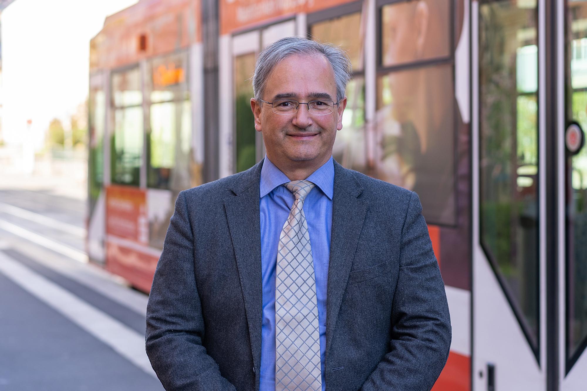 Bernd Karl, Bereichsleiter Mobilitätsdienstleistungen der WVV