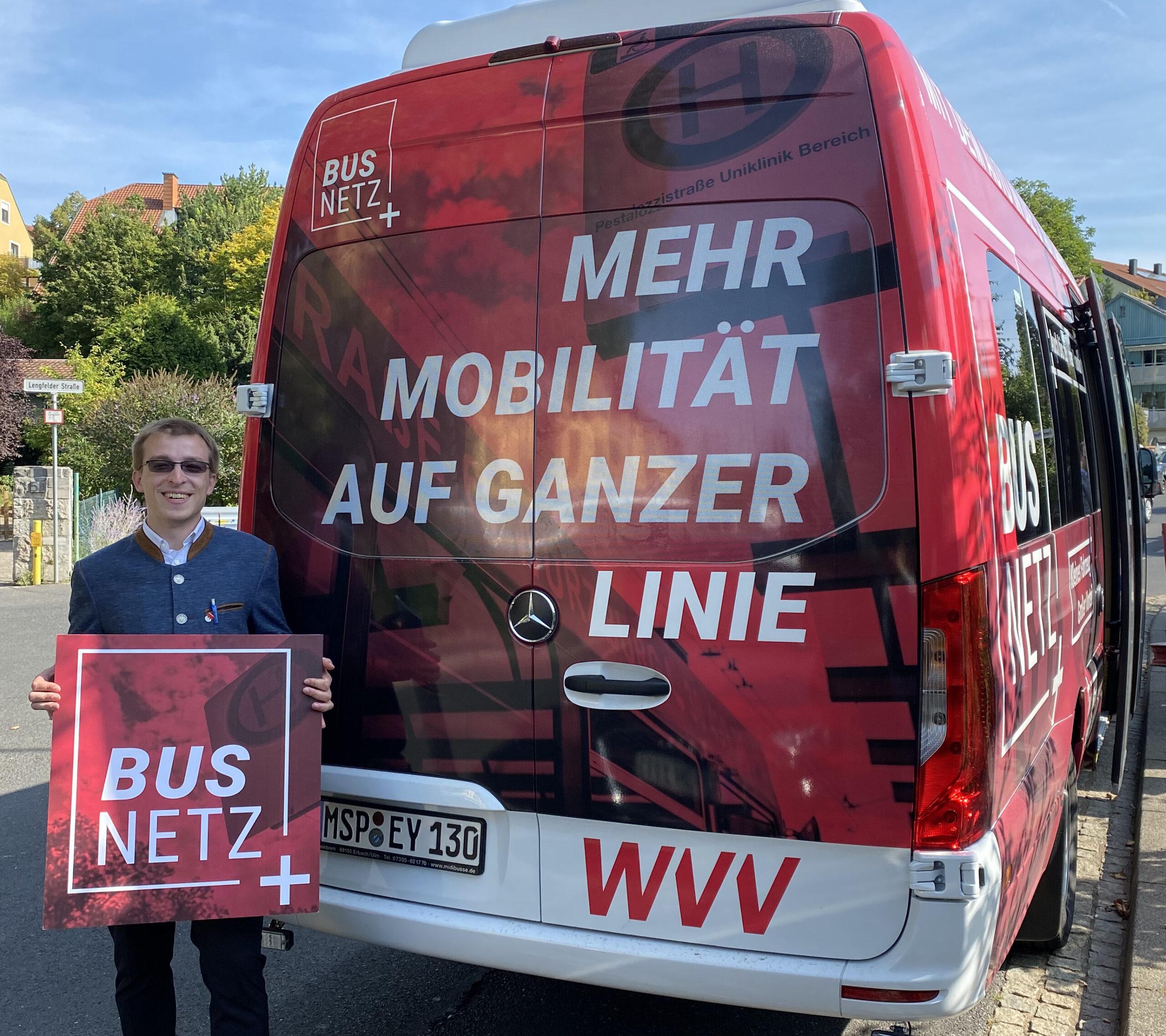 BUSNETZ+ Mehr Mobilität auf ganzer Linie